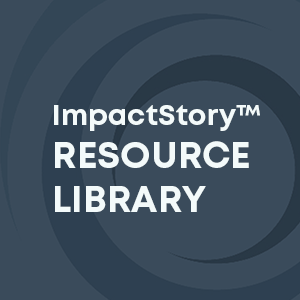 The ImpactStory curated and annotated resource library